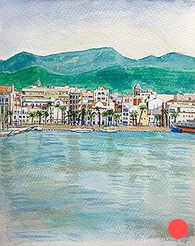 Vista de Vilanova i la Geltrú
