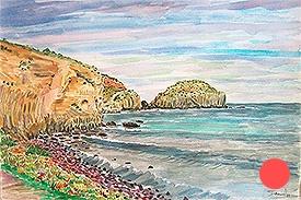 Islotes desde la orilla