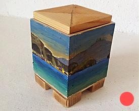 Caja con 4 patas