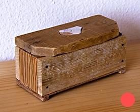 Caja cofre 5 maderas con cerámica