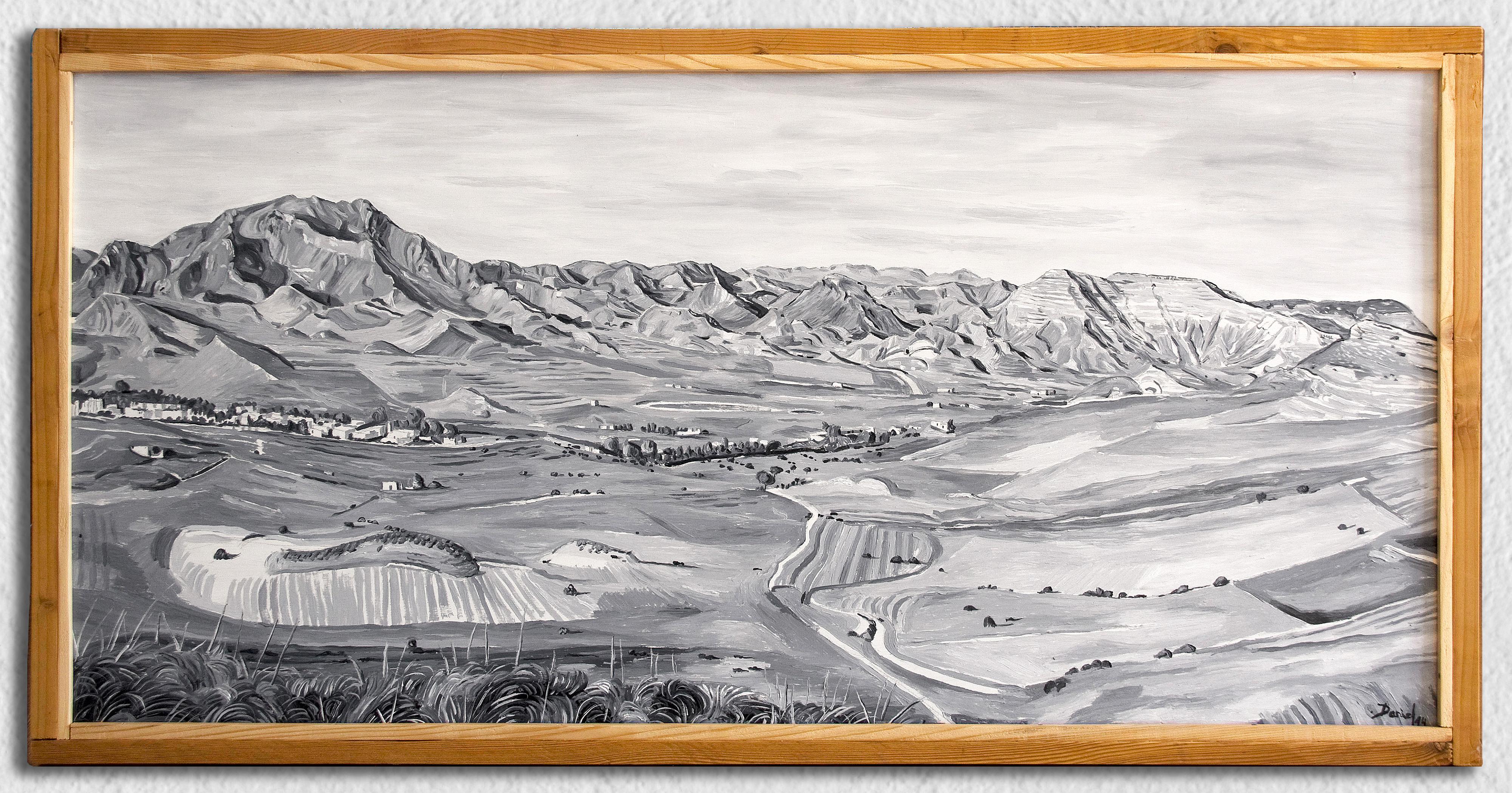 Vista del valle de Rodalquilar