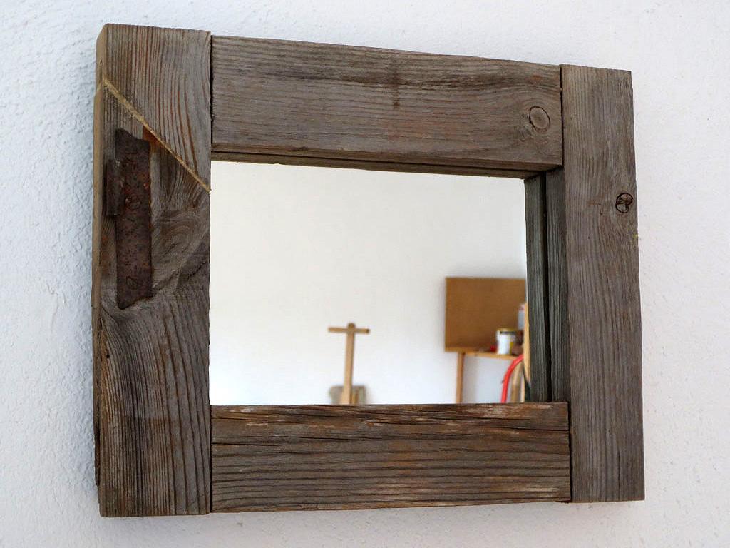 Espejo marco de ventana for Espejo marco wengue