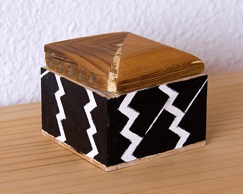 Caja rectángulos en diagonal