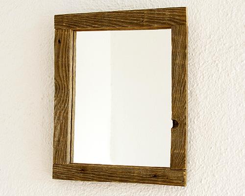 Espejo rústico envejecido