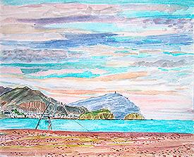 Vista de la Isleta