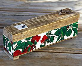 Caja incensario buganvilla
