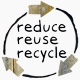 Reduce, rehuse, recycle